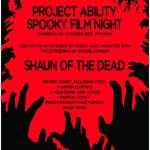 Spooky Movie Night, ProjectAbility, 28 October, 2017