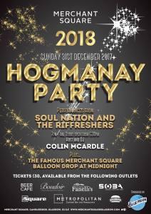 hogmanay party 2017