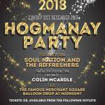 Merchant Square, Hogmanay Party Glasgow 2017