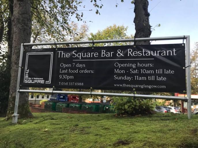 the square bar restaurant