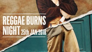 reggae burns night 25 jan