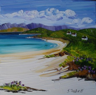 Distant Crofts Harris 25 x 25cm