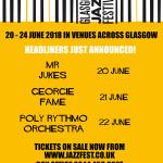 Glasgow Jazz Festival 2018