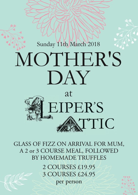 mothers day at leipers attic