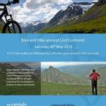 Hike and Bike, Loch Lomond, fundraiser for Scottish Huntington's Association