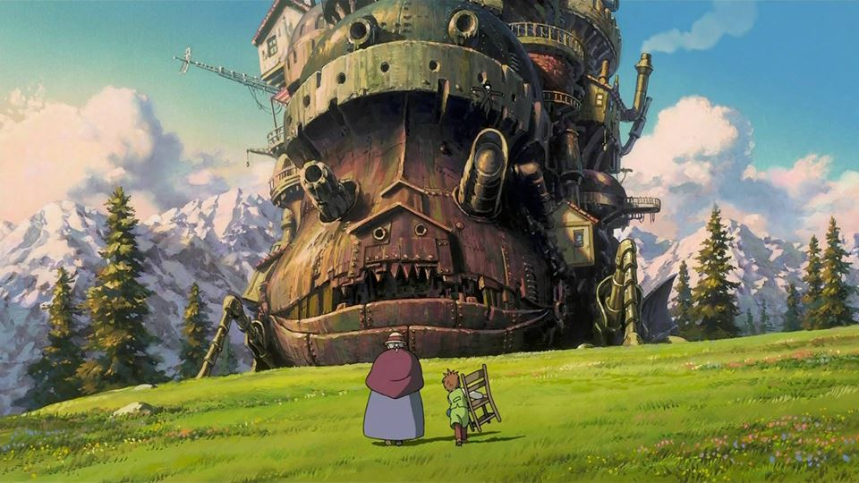 howl's moving castle at gft