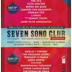 Seven Song Club Weekender, Merchant City Festival