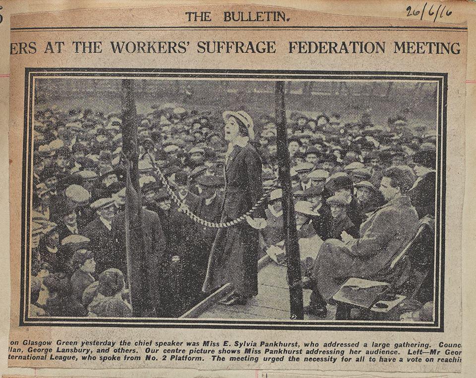 suffragettes mitchell