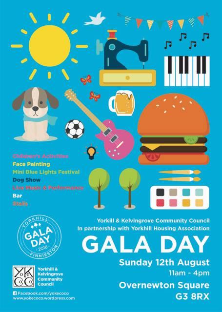 yorkhill and finnieston gala day