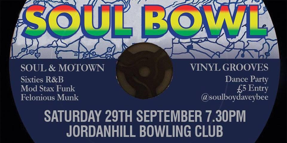 soul bowl 29 sept