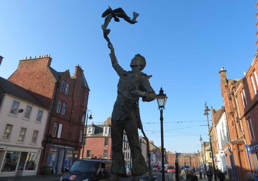 John Muir Statue. Dunbar
