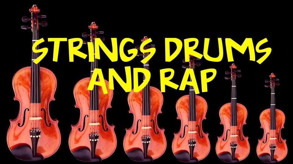 strings drums rap