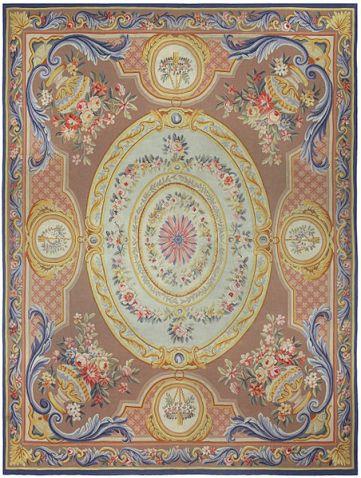 Antique_aubusson_rug_collection_Doris_Leslie_Blau