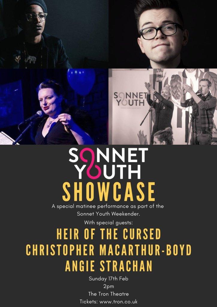 sonnet youth showcase