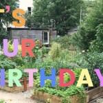 Woodlands Community Garden's 9th Birthday Celebration