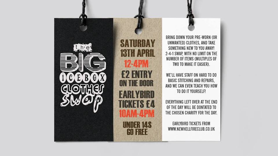 the big clothes swap at the ice box