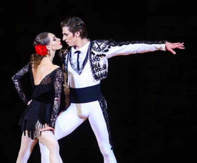 the bolshoi ballet carmen suitepetrushka live