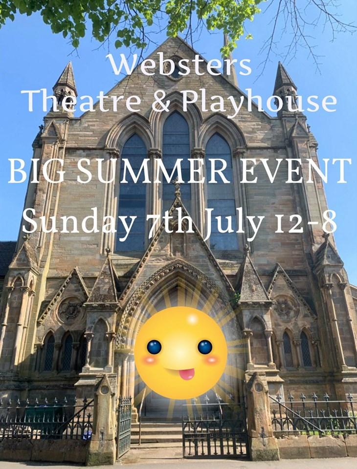 websters 7 july summer event