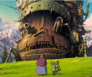 How's moving castle