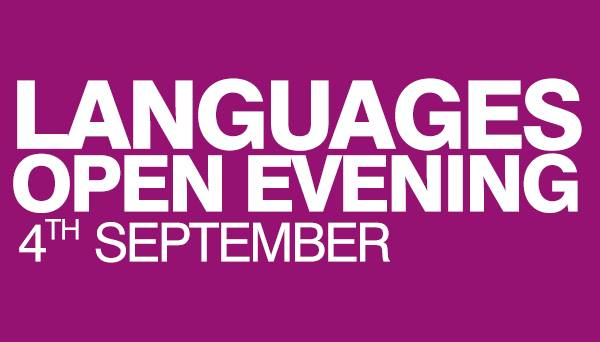 Languages Short Courses Open Evening, University of Glasgow