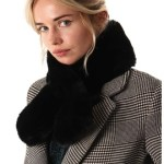faux fur scarf ns