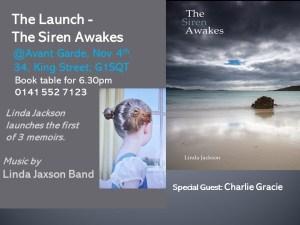 book launch the siren awakes