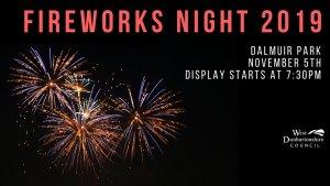 dalmuir fireworks display