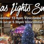 Christmas Tree Light Switch On & Street Market 2019 Glasgow West End