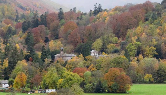 Patterdale Hall. Woodlands. The Lake District