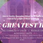 The Greatest Hits, Mental Health Fundraiser