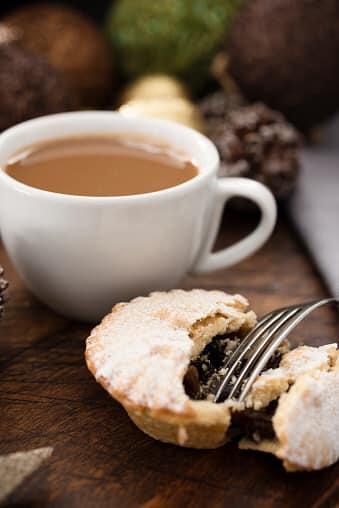 coffee mince pie