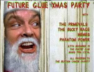 future glue christmas party