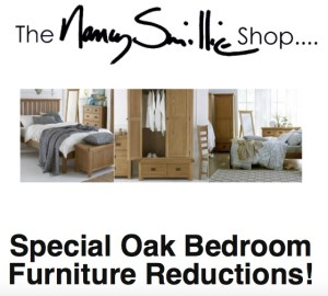 oak furniture reductions nancy smillie