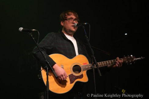 Glasgow, Scotland. 29th January 2020. Celtic Connections festival 2020.  Robert Vincent, English singer songwriter,  performed at a concert Caledonia Soul at the Old Fruitmarket. as part of Celtic Connections 2020. Photo Pauline Keightley/ Alamy News.