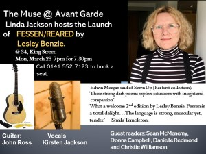 lesley benzie book launch