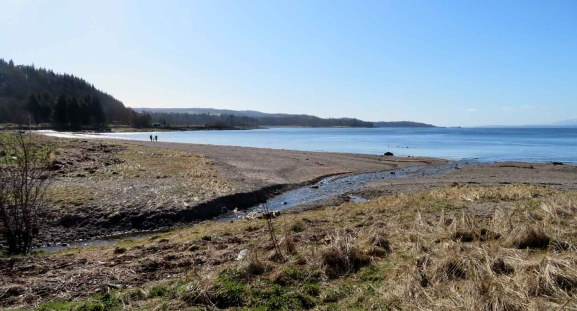 A Beach Walk in Inverclyde