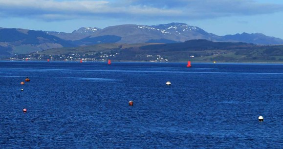 The North Clyde Estuary off Port Glasgow