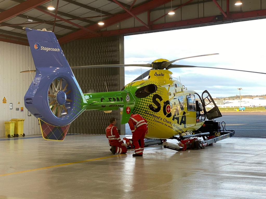 air ambulance aeroplane