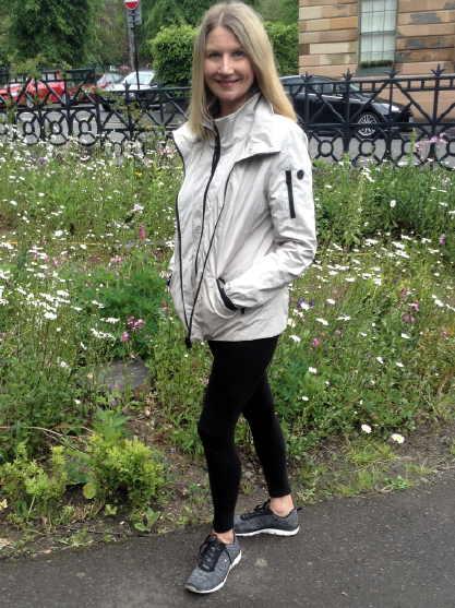 rachel creenstone beige jackt