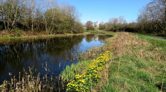Forth and Clyde Canal. Great Western Road. Glasgow