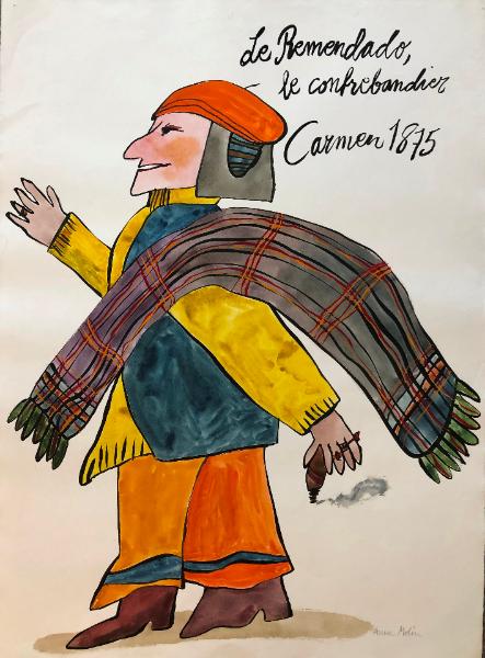 anna-molin-de-remendado-le-confrebandier-carmen-1875-gouache-80-x-59-cm1