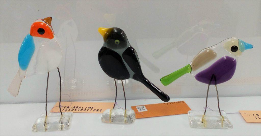 glass birds art moira j and j