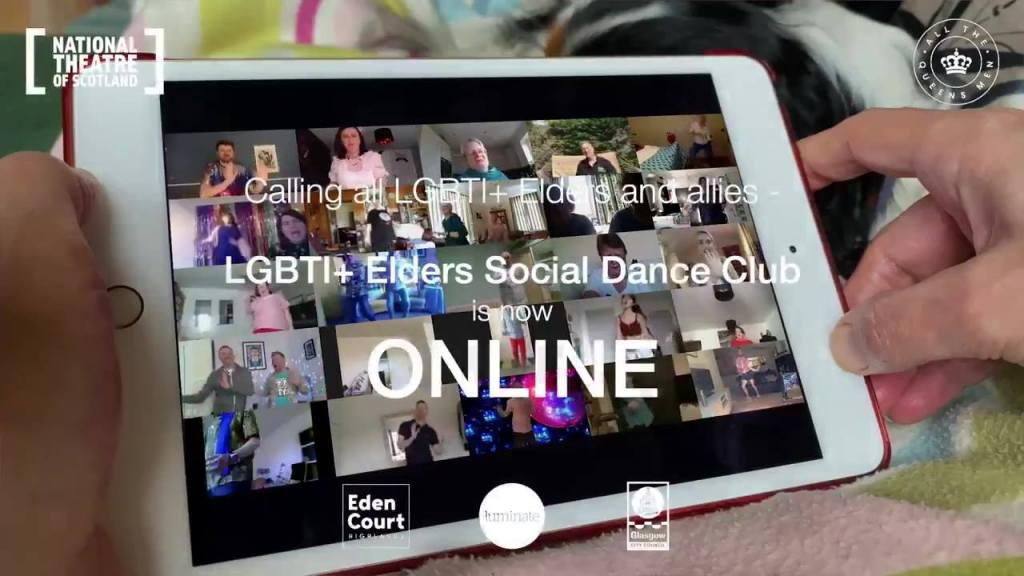 national theatre of scotland online dance club