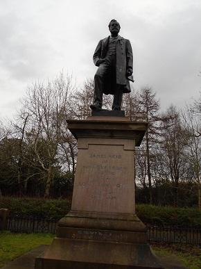 Reid Statue