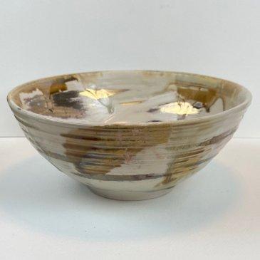 hand thrown semi porcelain bowl ns