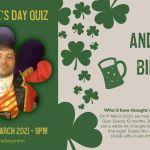St Patrick's Day Online Quiz