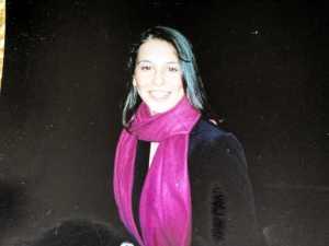 me pink scarf