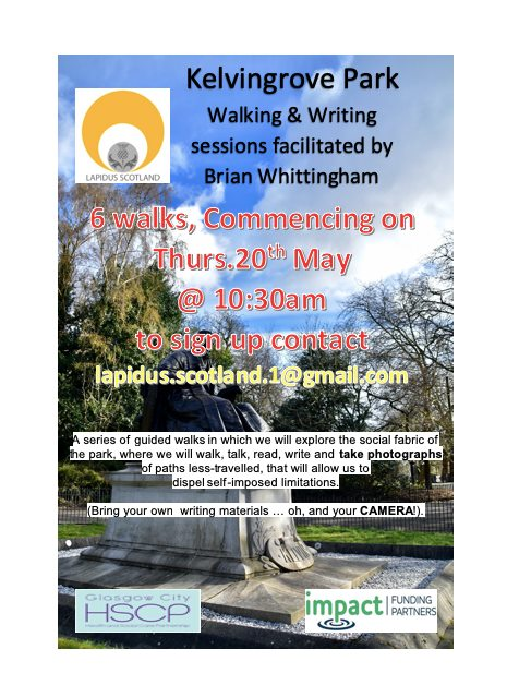 lapidus writing walks brian whittingham