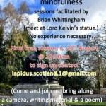 Brian Whittingham - Writing Walks in Kelvingrove