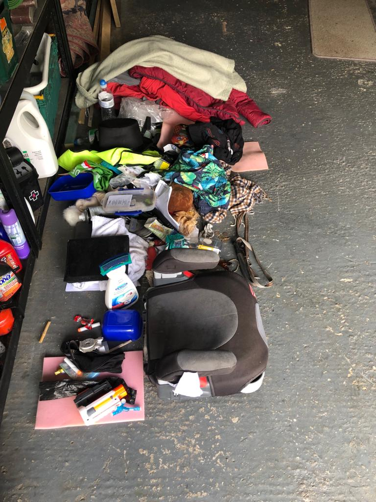 contents of my car